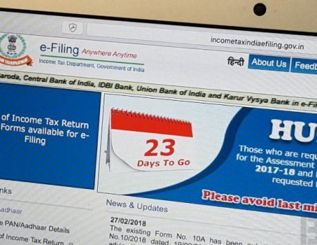 You can now quickly file ITR using 'e-filing Lite' portal