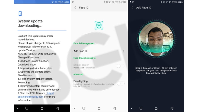 Infinix Hot S3 update brings Face Unlock feature, here's how it