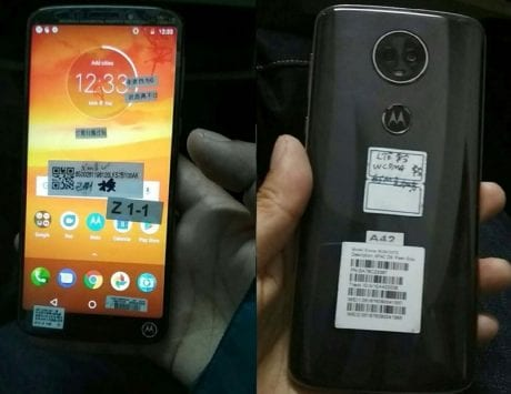 Latest Moto E5 Plus hands-on photos leaked ahead of official launch