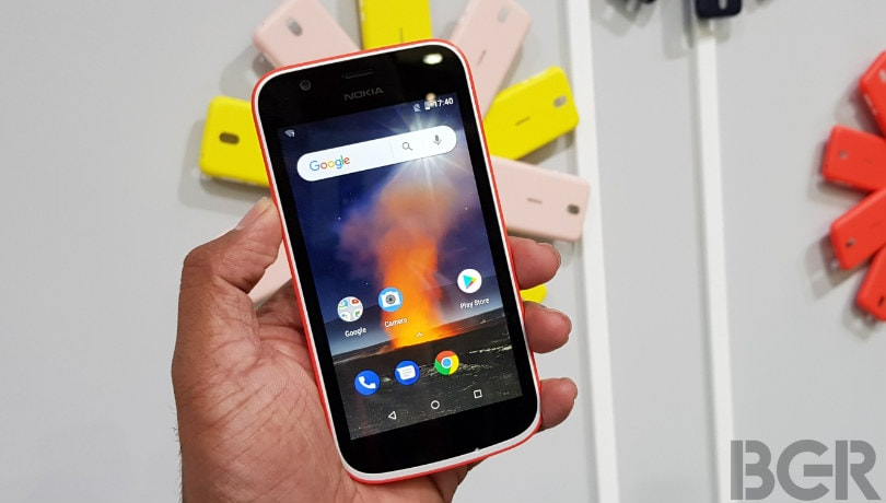 Nokia 1 gets April security update with fix for critical vulnerability