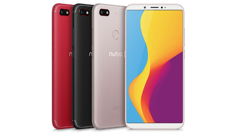 Nubia V18 launched with bezel-less design: Price, specifications and features