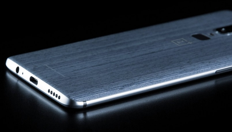 OnePlus 6 with Woodgrain Back Panel Leaked by Evan Blass