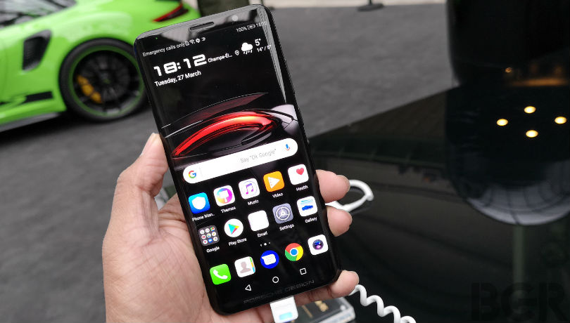 Porsche Design Huawei Mate RS First Impressions: Top notch, without the 'notch'