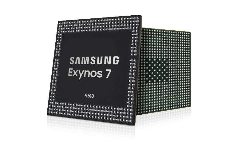 Samsung unveils Exynos 9610 SoC with AI-based image processing, 480fps slow-motion video recording