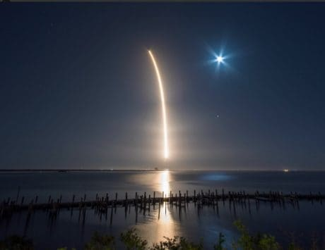SpaceX launches newly updated Falcon 9 rocket