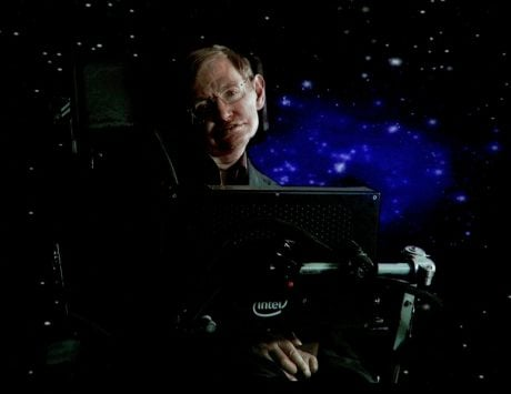 British physicist Stephen Hawking's voice beamed to space as final send-off