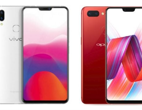 Vivo X21 vs Oppo R15 compared