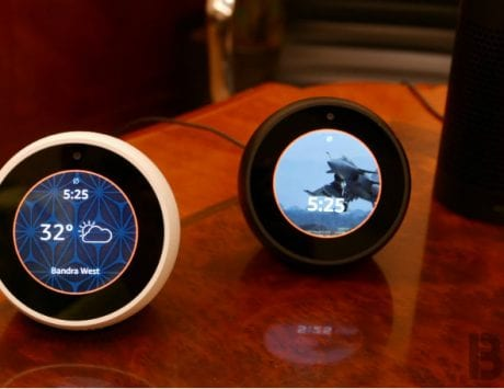 Amazon Echo Spot with circular display launched in India