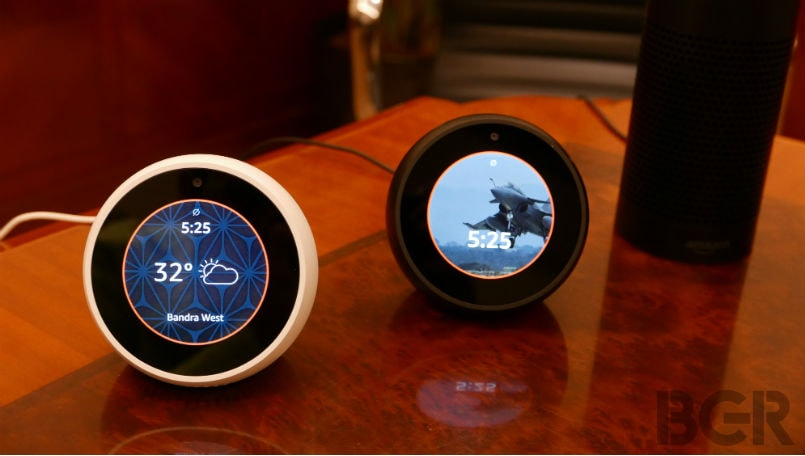 Amazon Echo Spot with circular display launched in India: Price, Specifications and Features