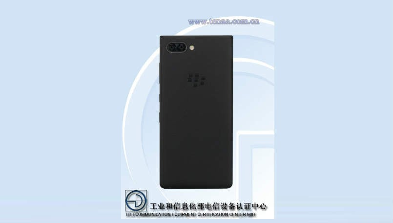 BlackBerry Athena leaked on TENAA certification