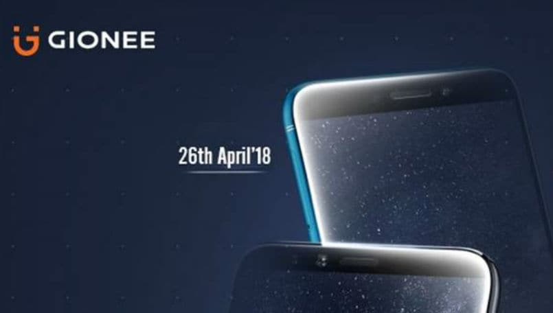 Gionee smartphone launch main