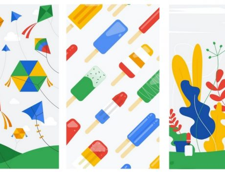 Android P: Google teases name of the next version in Spring wallpapers