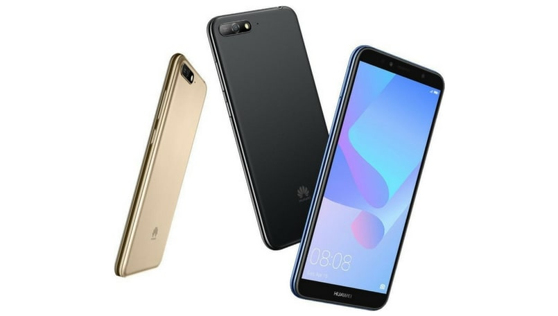 Huawei Y6 (2018) with 18:9 display announced: Specifications and features