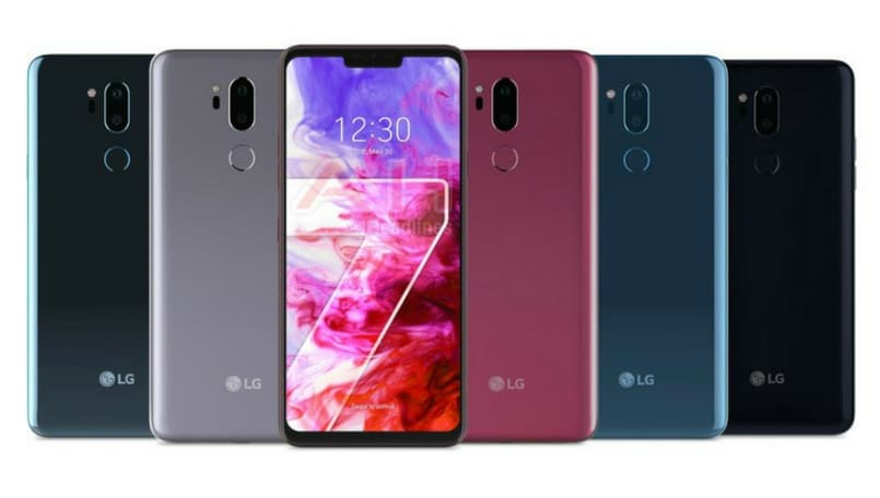LG G7 ThinQ official renders leaked ahead of May 3 launch
