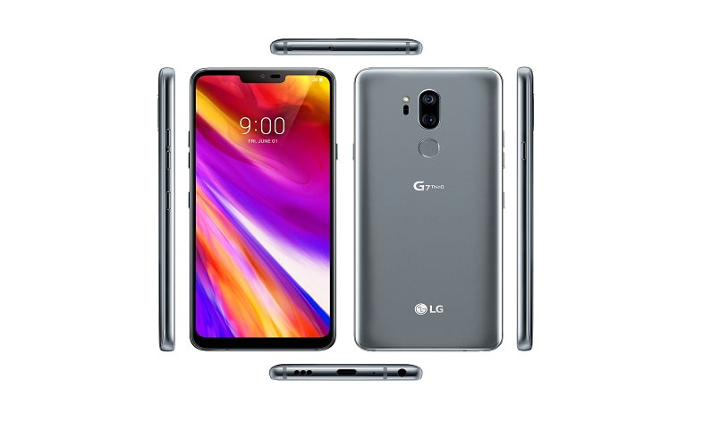 LG G7 ThinQ press renders leaked leaving very little to the imagination