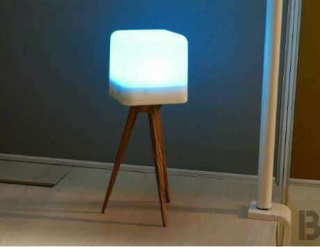 Lucis Lamp: This wireless lamp is cool and disconnected