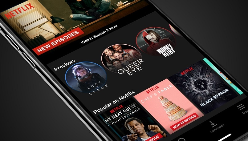 Streaming service now offering mobile previews