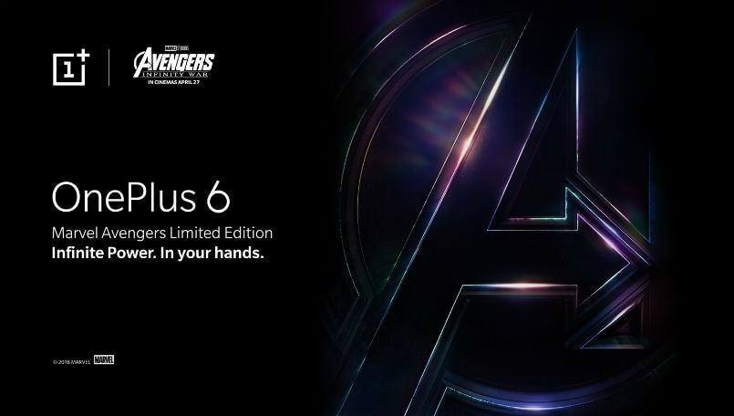 OnePlus Marvel Avengers Limited Edition confirmed in a teaser video