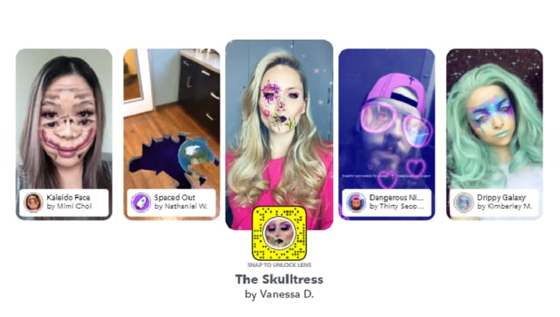 Snapchat now lets users create their own AR Masks in Lens Studio