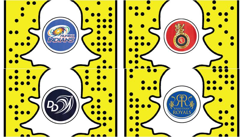 IPL 2018: Snapchat partners four IPL teams and announces new creative tools