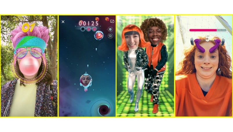 Snapchat AR Game Lenses 'Snappables': What You Need To Know