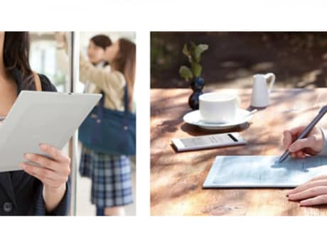 Sony announces a smaller version of Digital Paper E Ink tablet for Japan