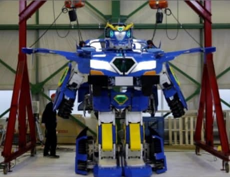 Japan's Transformers-style robot can turn into a car in 60 seconds