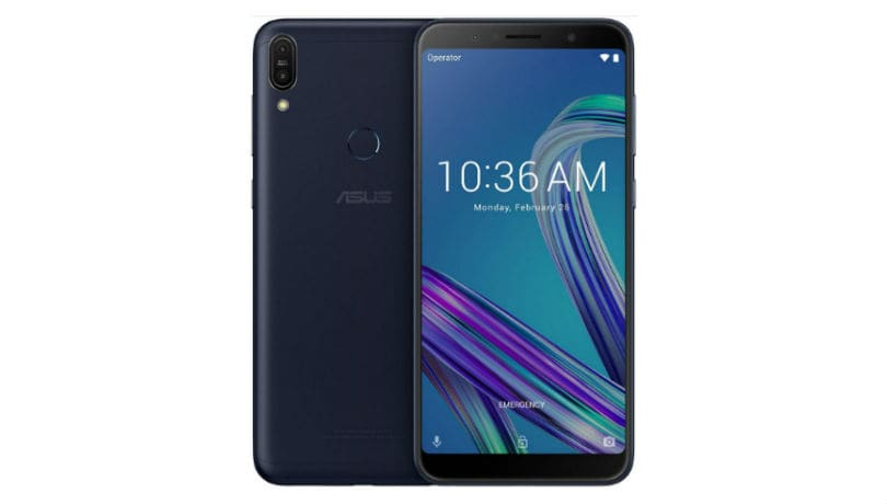 Asus Zenfone Max Pro M1 press render, specifications leaked ahead of April 23 India launch