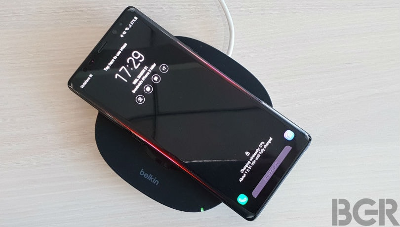 belkin qi wireless charger review lead