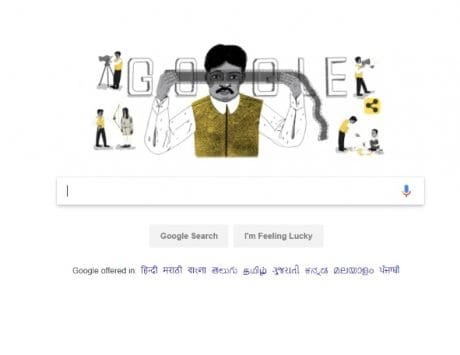 Google Doodle honors Indian filmmaker Dadasaheb Phalke on his 148th birth anniversary