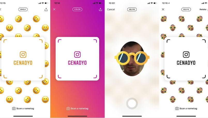 Instagram is working on 'Nametags' to compete with Snapchat