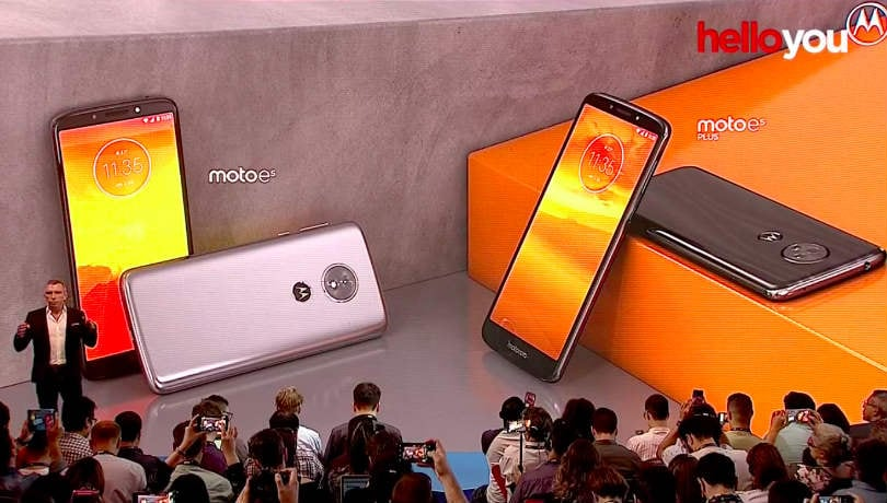 Moto E5, Moto E5 Plus, Moto E5 Play with Android Oreo announced