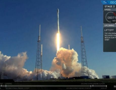 SpaceX carries out Falcon 9 mission successfully in challenging weather conditions
