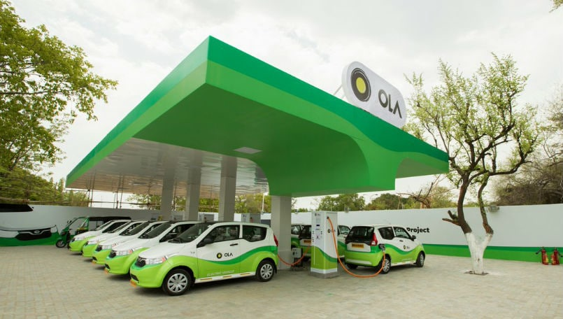 Ola to deploy 10000 electric vehicles in 12 months