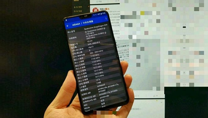 OnePlus 6 leaked real-life photo shows off the full-screen display and notch