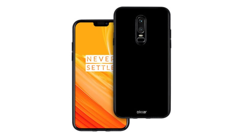 OnePlus 6 revealed completely in mobile case listing renders