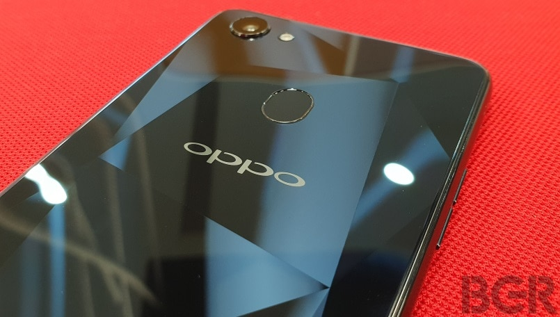 oppo f7 diamond black logo