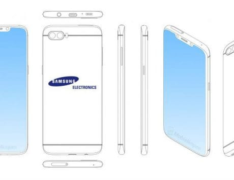 Samsung Galaxy Note 9 could sport iPhone X-like notch, leaked patent hints