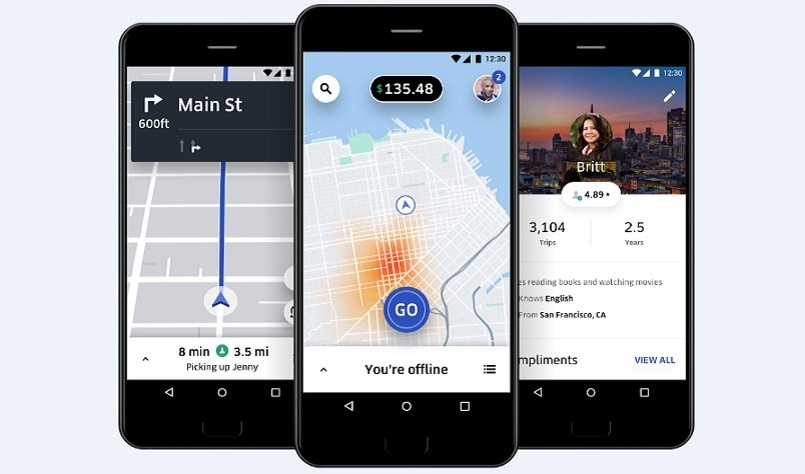 Uber launches new, rebuilt app for drivers