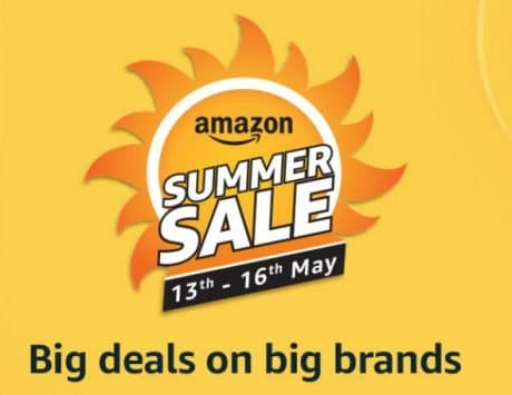 Amazon Summer Sale starts May 13, will compete with Flipkart's Big Shopping Days