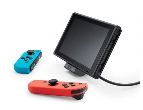 The Nintendo official Switch charging stand is finally coming