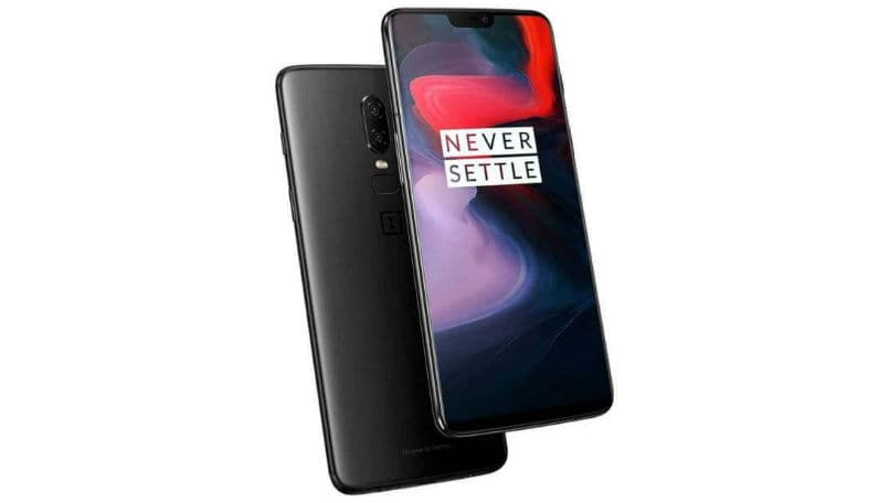 OnePlus 6 mirror black main