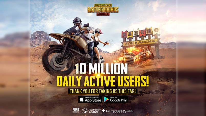 Topic Oficial Pubg Mobile Discutii Generale: PUBG Mobile Has Broken The 10 Million Daily Active Users