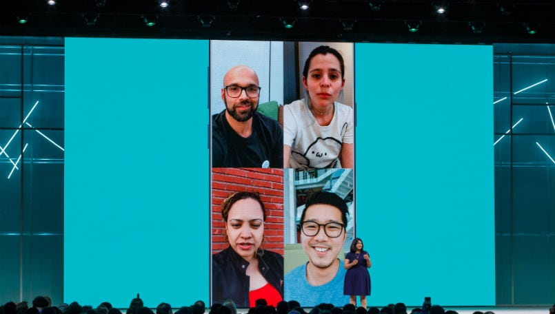 WhatsApp Group Video calling F8 gallery