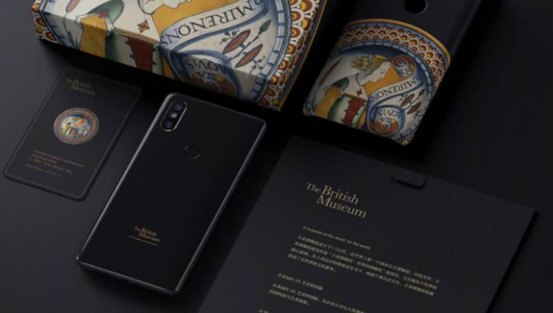 Xiaomi Mi MIX 2S Art Special Edition launched with a unique design and customized packaging