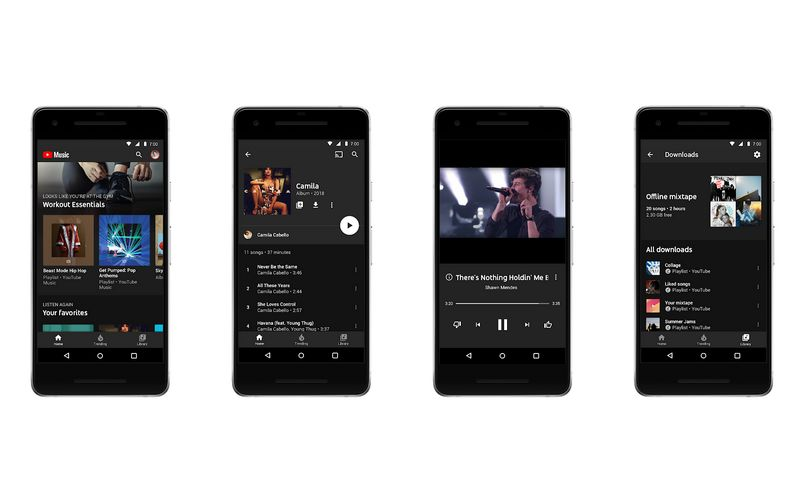 Revamped YouTube Music is Google's latest effort to take on Spotify
