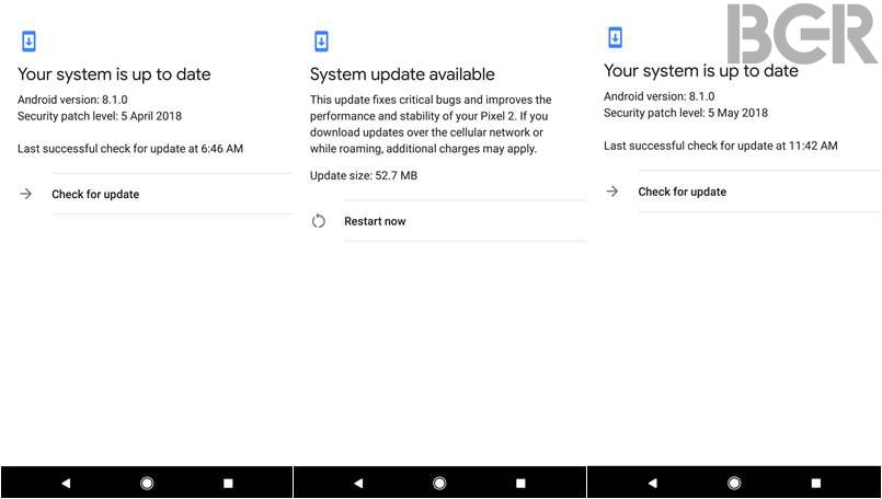 Google Pixel and Nexus devices get security patch for May 2018 | BGR