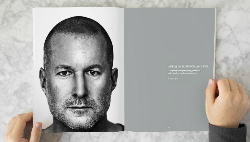 Apple design chief Jony Ive talks about Apple Watch and his first real watch