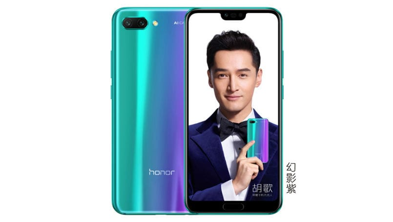 Honor 10 just landed with chameleon body, AI camera, and nice price