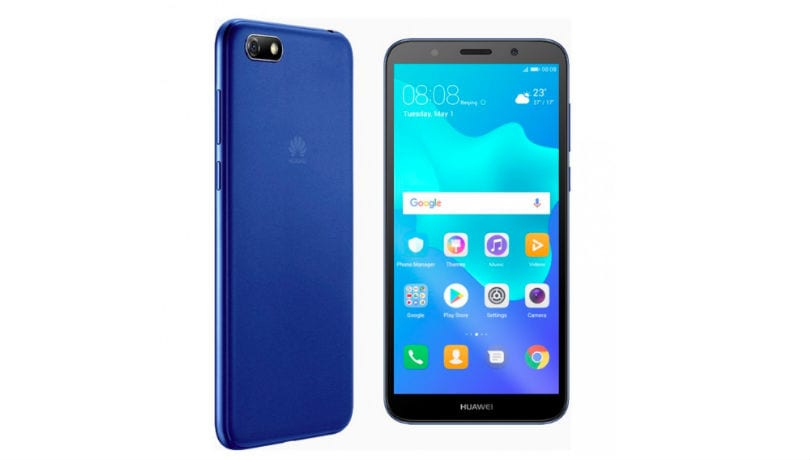 Huawei Y5 Prime (2018) with 18:9 display, Face Unlock quietly listed on official website